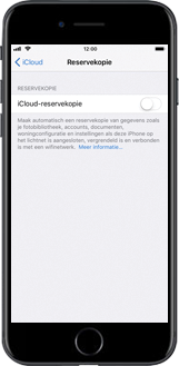 Apple iPhone 7 iOS 11 - Instellingen aanpassen - Back-up maken in je account - Stap 8