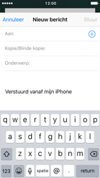 Apple iPhone 5 met iOS 10 (Model A1429) - E-mail - Hoe te versturen - Stap 4
