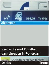 Nokia 206 Dual Sim - Internet - Hoe te internetten - Stap 14