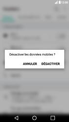 LG X Power - Internet - Activer ou désactiver - Étape 4