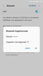 Samsung Galaxy J5 (2016) - Android Nougat - Bluetooth - Headset, carkit verbinding - Stap 8