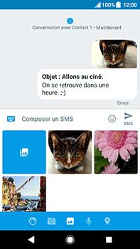 Sony Xperia XA2 Ultra - Contact, Appels, SMS/MMS - Envoyer un MMS - Étape 18