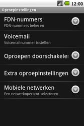 Samsung I7500 Galaxy - Voicemail - handmatig instellen - Stap 5