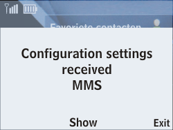 Nokia Asha 201 - MMS - Automatic configuration - Step 3
