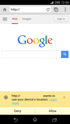 Sony Xperia T3 - Internet - Internet browsing - Step 7