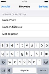 Apple iPhone 4 S iOS 9 - E-mail - Configuration manuelle - Étape 14