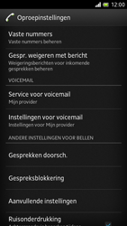 Sony LT28h Xperia ion - Voicemail - Handmatig instellen - Stap 5
