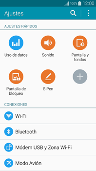 Samsung N910F Galaxy Note 4 - WiFi - Conectarse a una red WiFi - Paso 4