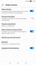 Huawei P10 - Red - Seleccionar una red - Paso 5