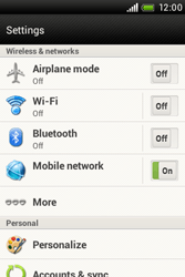 HTC A320e Desire C - Internet - Enable or disable - Step 4