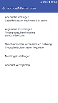 HTC U11 (2PZC100) - E-mail - Instellingen KPNMail controleren - Stap 23