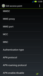 Acer Liquid E3 - MMS - Manual configuration - Step 13