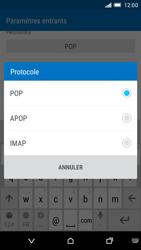 HTC One M9 - E-mail - Configurer l