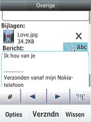 Nokia C2-03 - E-mail - e-mail versturen - Stap 16