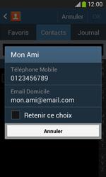 Samsung Galaxy Ace 3 - Contact, Appels, SMS/MMS - Envoyer un SMS - Étape 7