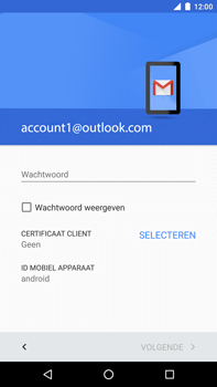 Huawei Google Nexus 6P - E-mail - handmatig instellen (outlook) - Stap 11