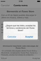 Apple iPhone 4S iOS 7 - Aplicaciones - Tienda de aplicaciones - Paso 11