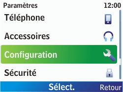 Nokia C3-00 - Internet - Configuration manuelle - Étape 4