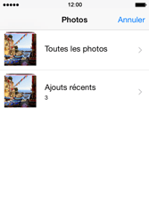 Apple iPhone 4S (iOS 8) - Contact, Appels, SMS/MMS - Envoyer un MMS - Étape 10