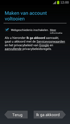 Samsung I9305 Galaxy S III LTE - Applicaties - Account aanmaken - Stap 10