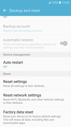 Samsung G930 Galaxy S7 - Device - Reset to factory settings - Step 7