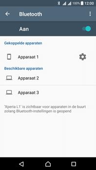 Sony Xperia L1 - WiFi en Bluetooth - Bluetooth koppelen - Stap 8