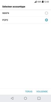 LG Q6 (M700) - E-mail - Account instellen (POP3 met SMTP-verificatie) - Stap 10