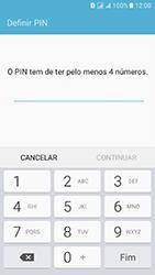 Samsung Galaxy J5 (2016) DualSim (J510) - Segurança - Como ativar o código de bloqueio do ecrã -  7