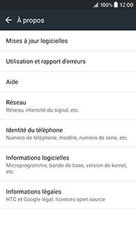 HTC Desire 825 - Réseau - Installation de mises à jour - Étape 6