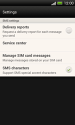 HTC C525u One SV - SMS - Manual configuration - Step 7