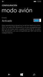 Microsoft Lumia 640 - Funciones básicas - Activar o desactivar el modo avión - Paso 6