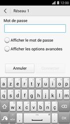 Huawei Ascend Y550 - Wifi - configuration manuelle - Étape 5