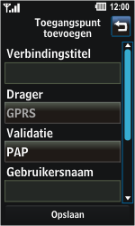 LG GD510 Pop - Internet - Handmatig instellen - Stap 6