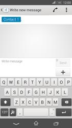Sony E2003 Xperia E4 G - Mms - Sending a picture message - Step 6