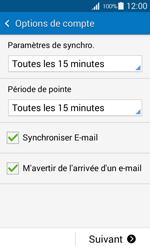 Samsung G318H Galaxy Trend 2 Lite - E-mail - Configuration manuelle - Étape 17