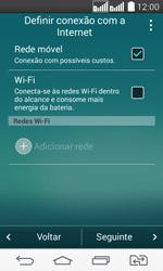 LG D295 G2 Lite - Primeiros passos - Como ativar seu aparelho - Etapa 5