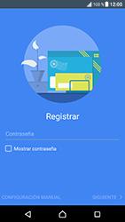 Sony Xperia XZ - Android Nougat - E-mail - Configurar correo electrónico - Paso 8