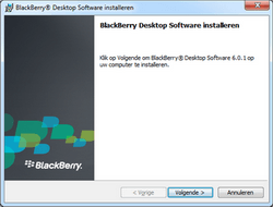 BlackBerry 8520 Curve - Software - Synchroniseer met PC - Stap 6