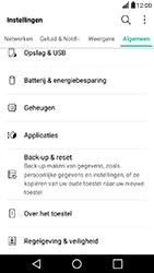 LG X Power - Device maintenance - Terugkeren naar fabrieksinstellingen - Stap 5