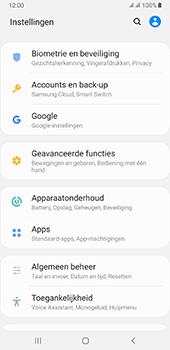 Samsung galaxy-a7-dual-sim-sm-a750fn-android-pie - Beveiliging en ouderlijk toezicht - Zoek mijn mobiel inschakelen - Stap 4