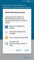 Samsung Galaxy S6 - Primeros pasos - Activar el equipo - Paso 16