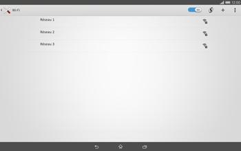 Sony Xperia Tablet Z2 (SGP521) - Wifi - configuration manuelle - Étape 5