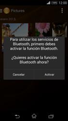 Sony D2203 Xperia E3 - Bluetooth - Transferir archivos a través de Bluetooth - Paso 13