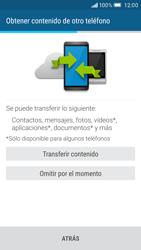 HTC One M9 - Primeros pasos - Activar el equipo - Paso 13