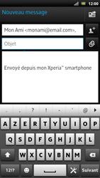 Sony LT22i Xperia P - E-mail - envoyer un e-mail - Étape 6