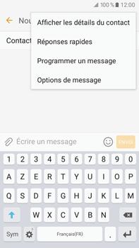 Samsung Samsung Galaxy J7 (2016) - Contact, Appels, SMS/MMS - Envoyer un MMS - Étape 12