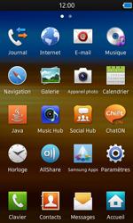 Samsung S8600 Wave 3 - E-mail - envoyer un e-mail - Étape 2