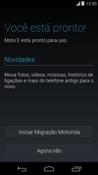 Motorola Moto E (1st Gen) (Kitkat) - Primeiros passos - Como ativar seu aparelho - Etapa 10