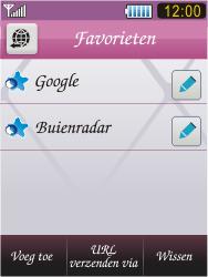 Samsung S7070 Diva - Internet - hoe te internetten - Stap 10