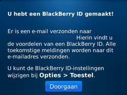 BlackBerry 9900 Bold Touch - BlackBerry activeren - BlackBerry ID activeren - Stap 12